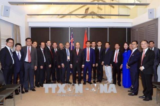 Thủ tướng gặp mặt các doanh nhân, trí thức tiêu biểu người Việt tại Australia
