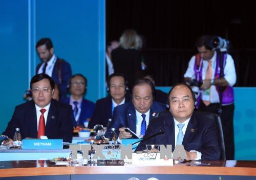 Thủ tướng Nguyễn Xuân Phúc: Trong hợp tác biển, trước hết cần tuân thủ luật pháp quốc tế