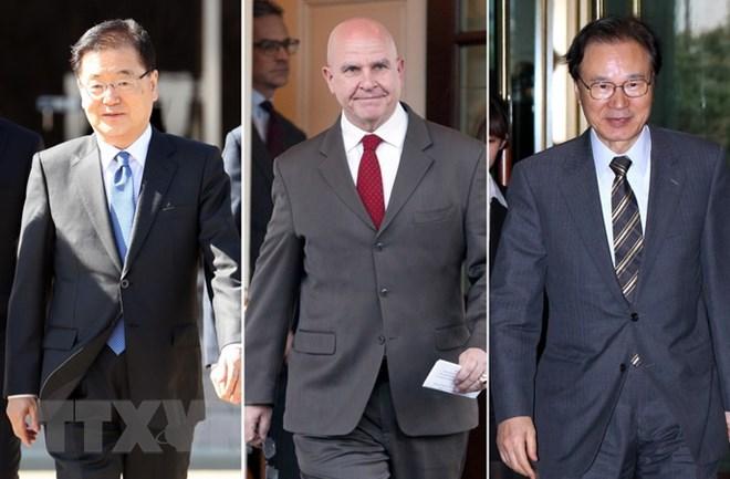 Các cố vấn an ninh Mỹ-Hàn-Nhật thảo luận về đối thoại với Triều Tiên
