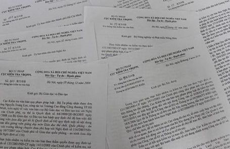 Tiếp nhận và xử lý 452 lượt đơn thư khiếu nại, tố cáo về lĩnh vực tài nguyên môi trường