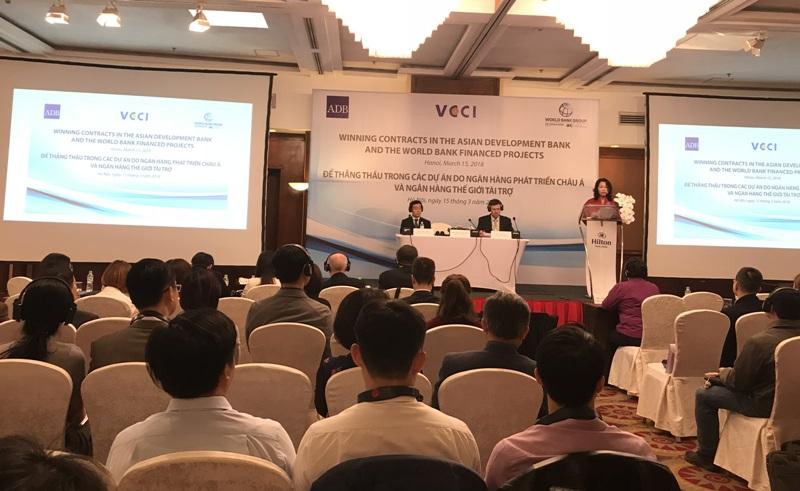 Nhiều cơ hội để doanh nghiêp Việt Nam thắng thầu trong các dự án của ADB và WB