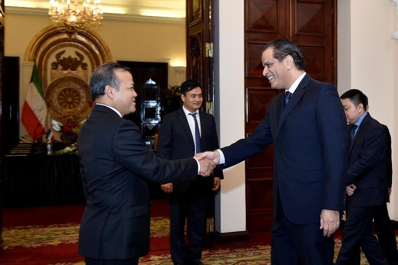 Tăng cường quan hệ hợp tác, hữu nghị Việt Nam - Cô-oét