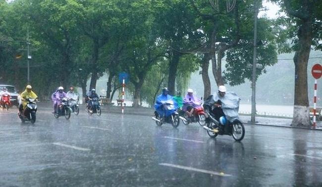 Miền Bắc mưa to đến rất to, đề phòng sạt lở đất