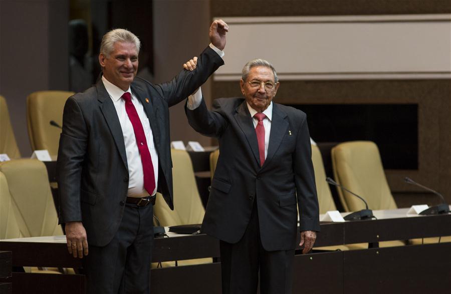 Các nhà lãnh đạo trên thế giới chúc mừng tân Chủ tịch Hội đồng Nhà nước Cuba