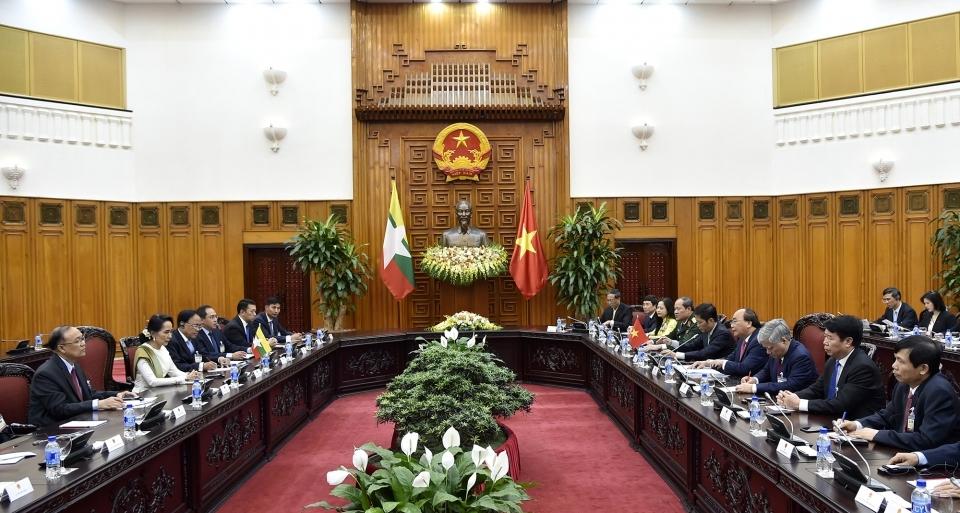 Làm sâu sắc hơn nữa quan hệ Đối tác hợp tác toàn diện Việt Nam - Myanmar