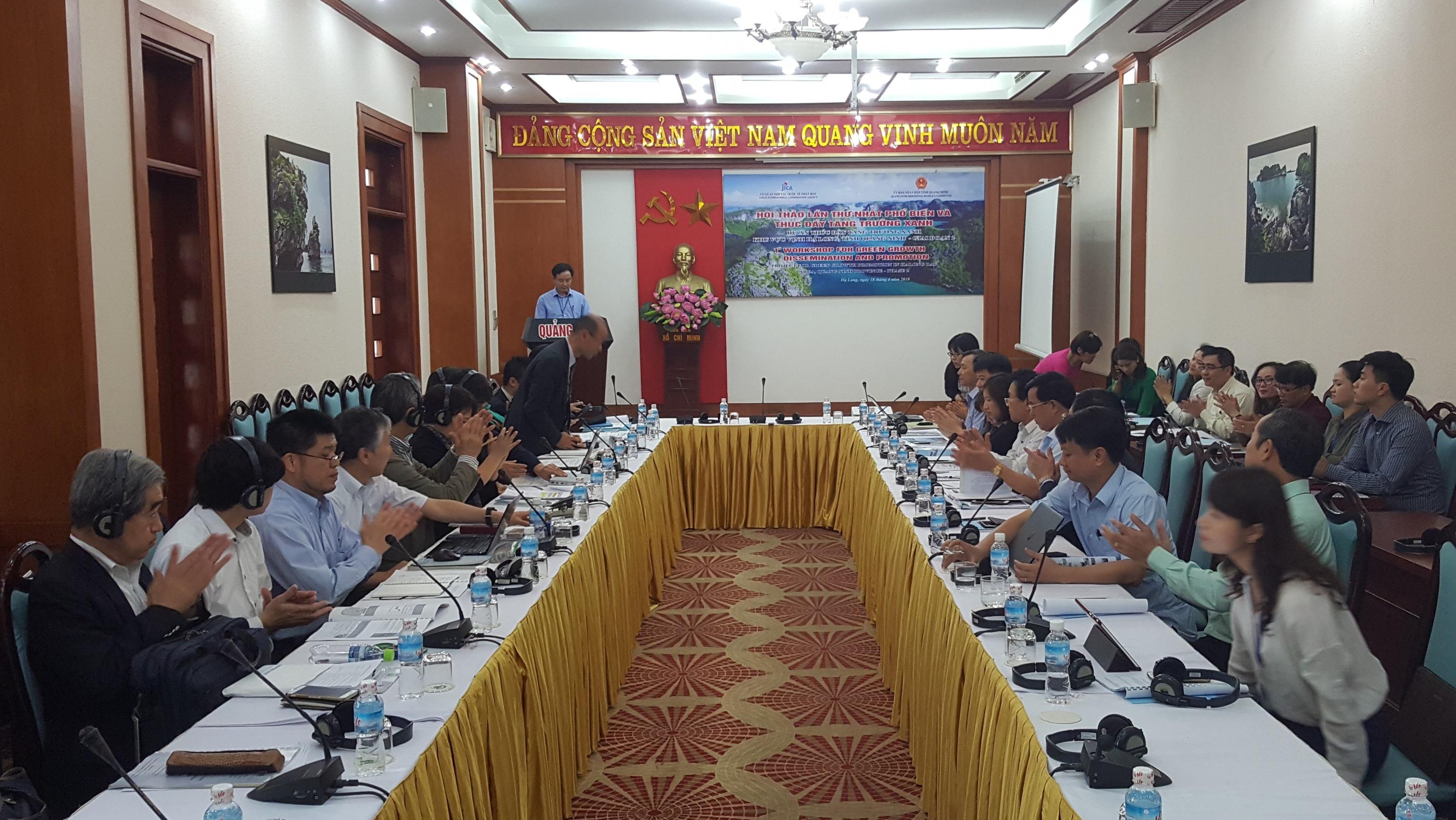 Hợp tác quốc tế nhằm thúc đẩy tăng trưởng xanh ở Quảng Ninh