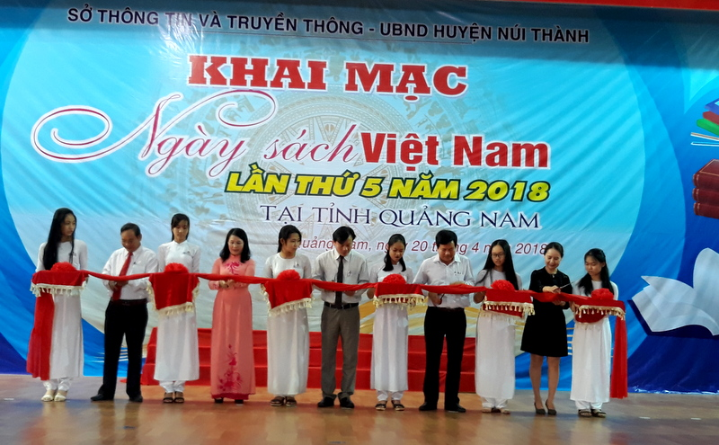 Quảng Nam: Hơn 5.000 đầu sách được trưng bày, giới thiệu tại Ngày sách Việt Nam lần thứ 5