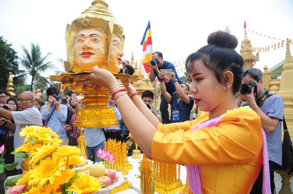 Tái hiện Tết Chôl Chnăm Thmây của đồng bào Khmer