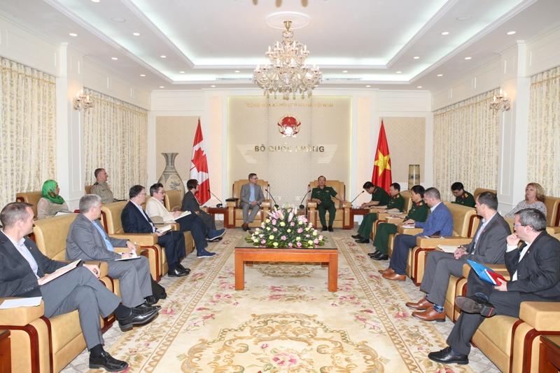 Tích cực thúc đẩy hợp tác quốc phòng song phương Việt Nam – Canada