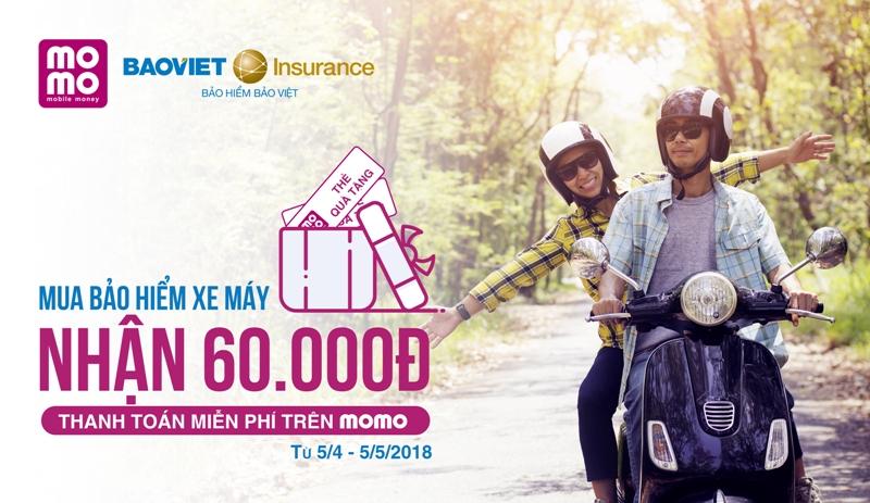 Bảo hiểm Bảo Việt và MoMo triển khai bán bảo hiểm xe máy