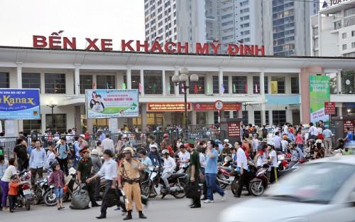 Đề xuất chuyển đổi chức năng 4 bến xe lớn của Hà Nội