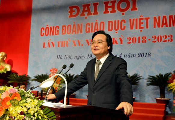 Đại hội Công đoàn Giáo dục Việt Nam lần thứ XV