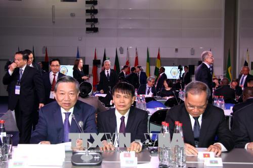 Bộ trưởng Công an Tô Lâm dự Hội nghị lãnh đạo phụ trách an ninh tại Nga