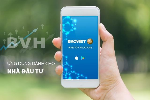 BVH ra mắt ứng dụng Quan hệ nhà đầu tư trên Mobile App