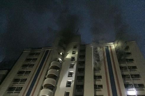 Có 13 người Việt Nam bị thương trong vụ cháy chung cư tại Thái Lan
