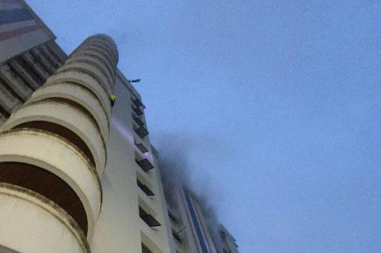 Cháy chung cư ở Bangkok 3 người thiệt mạng, 61 người bị thương
