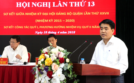 Chủ tịch UBND TP Hà Nội: Kiên quyết xử lý cán bộ, công chức thiếu trách nhiệm