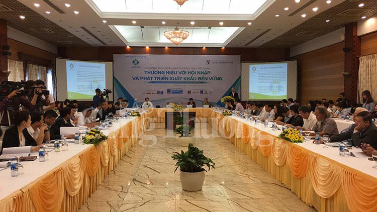 Thúc đẩy xuất khẩu hàng hóa gắn với thương hiệu Việt