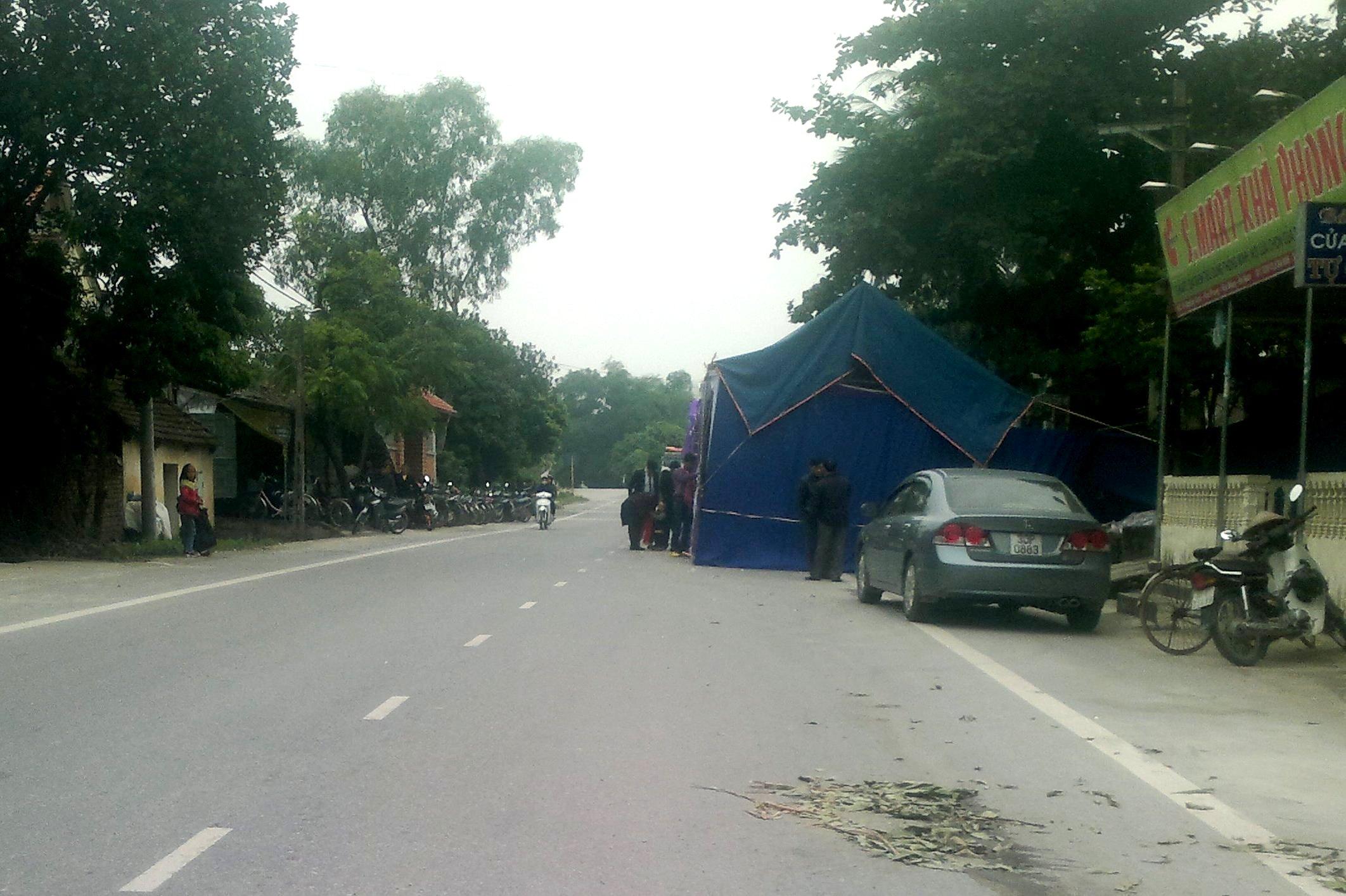 Hà Nam: Báo động tình trạng vi phạm hành lang an toàn giao thông đường bộ