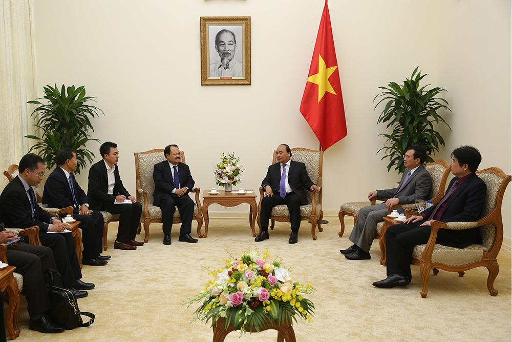 Đẩy mạnh hợp tác giữa Việt Nam và Lào trong lĩnh vực năng lượng, mỏ