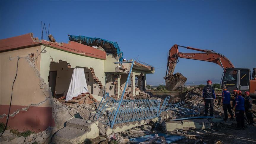 Động đất mạnh ở Thổ Nhĩ Kỳ, 13 người bị thương