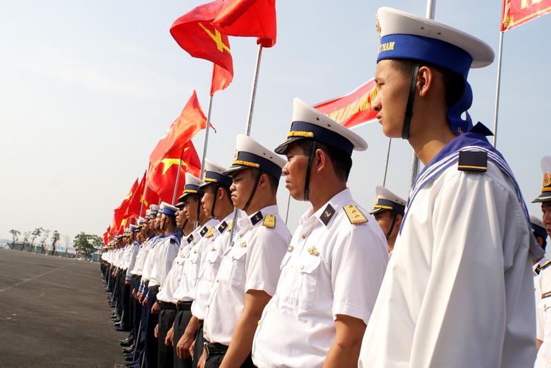 """Vùng 3 Hải quân phát động thi đua giành """"3 nhất"""""""