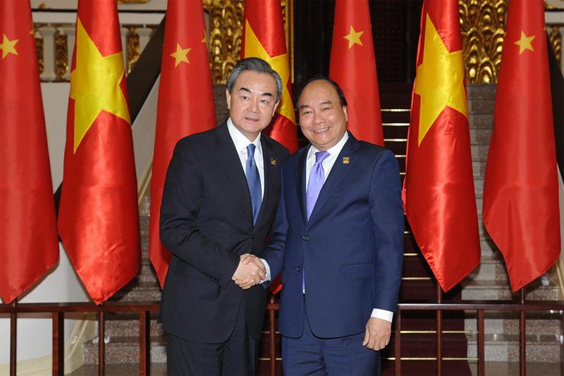 Thủ tướng Nguyễn Xuân Phúc tiếp  Bộ trưởng Ngoại giao Trung Quốc