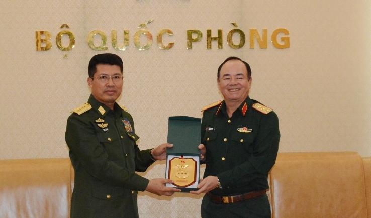 Tiếp tục tăng cường quan hệ hợp tác quốc phòng Việt Nam - Myanmar
