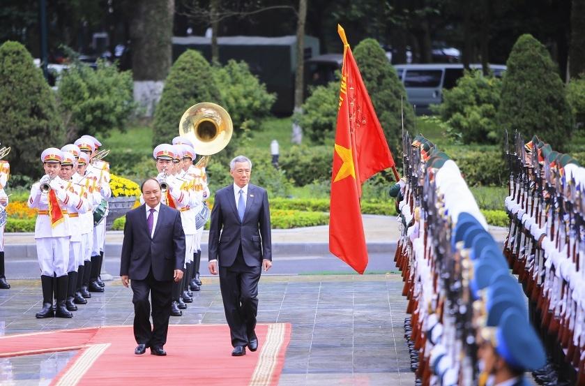 Chính sách nhất quán của Việt Nam là coi trọng quan hệ Đối tác Chiến lược với Xinh-ga-po