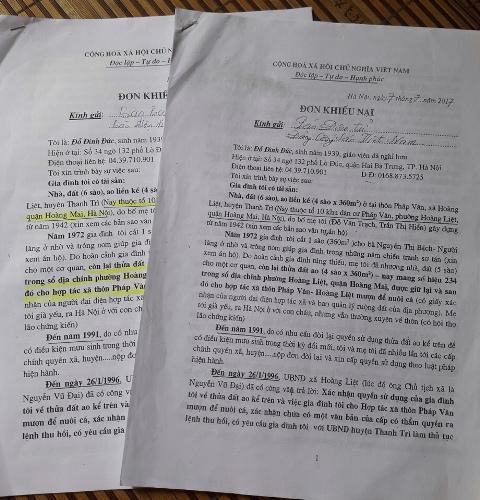 Quận Hoàng Mai, Hà Nội: Có hay không việc cố tình làm sai quy định trong giải quyết khiếu nại của công dân?