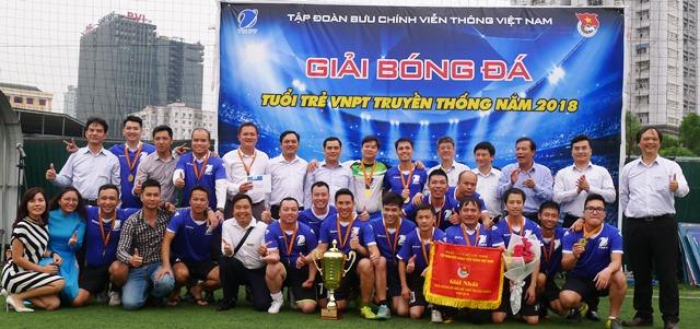 Bế mạc Giải bóng đá truyền thống tuổi trẻ VNPT lần thứ 22 năm 2018