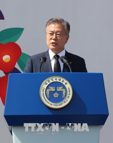 Hàn Quốc đánh giá tích cực tuyên bố của Triều Tiên dừng thử hạt nhân, tên lửa