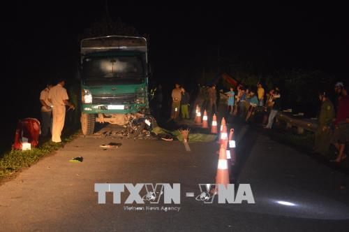 Quảng Trị: Tai nạn giao thông nghiêm trọng khiến 4 người tử vong