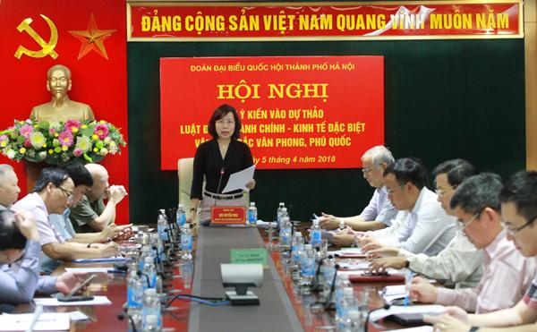 Đóng góp ý kiến vào dự thảo Luật Đơn vị hành chính - kinh tế đặc biệt Vân Đồn, Bắc Vân Phong, Phú Quốc