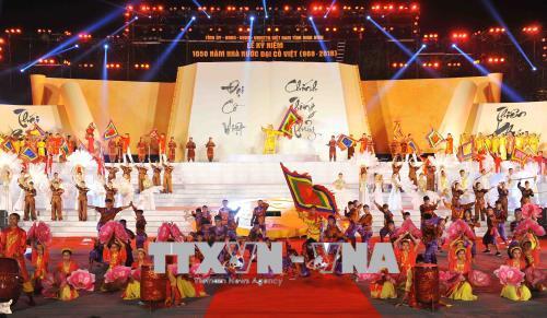 Tổng Bí thư Nguyễn Phú Trọng dự Lễ kỷ niệm 1.050 năm Nhà nước Đại Cồ Việt