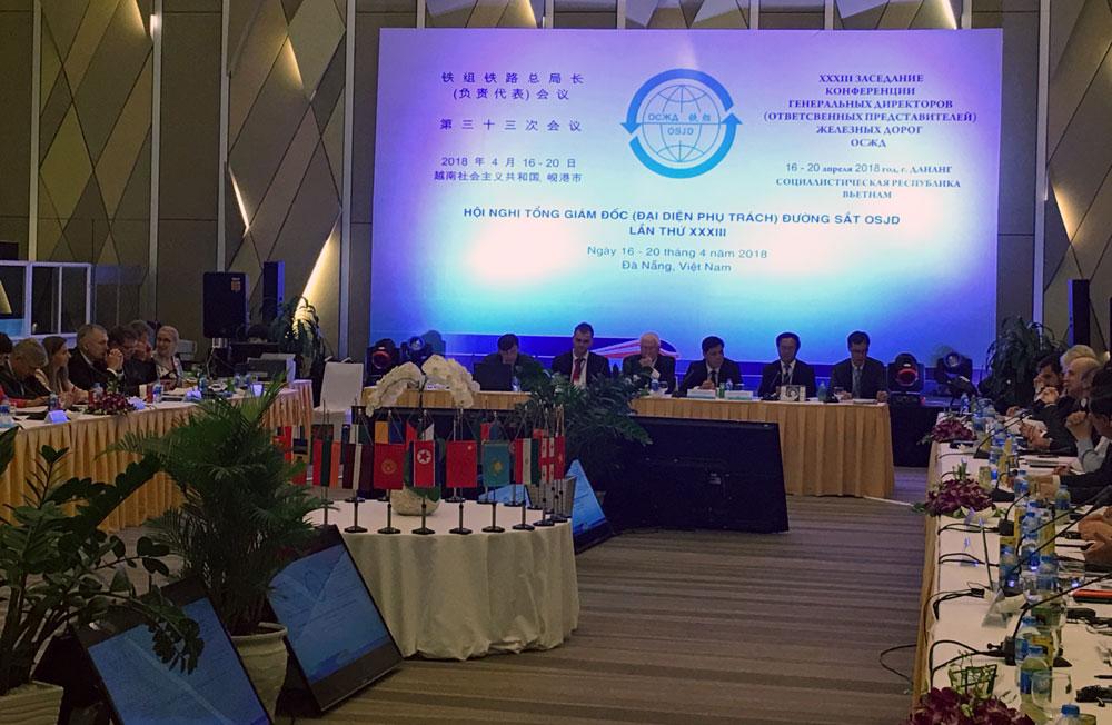 Việt Nam tìm kiếm thêm cơ hội hợp tác vận tải logistics đường sắt với các nước thành viên OSJD