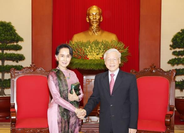 Việt Nam luôn coi trọng quan hệ hữu nghị và hợp tác nhiều mặt với Mi-an-ma