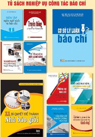 Ra mắt bộ sách nghiệp vụ báo chí với 22 đầu sách