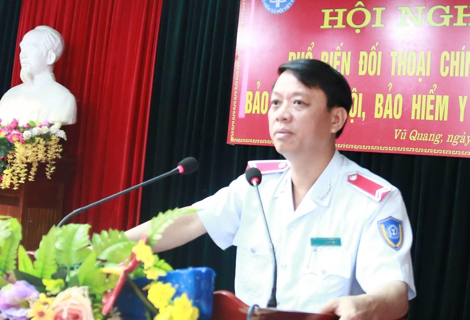 Hà Tĩnh: Đối thoại chính sách BHXH, BHYT