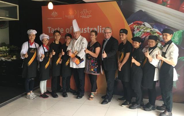 Khởi động cuộc thi nấu ăn chương trình Taste of Australia