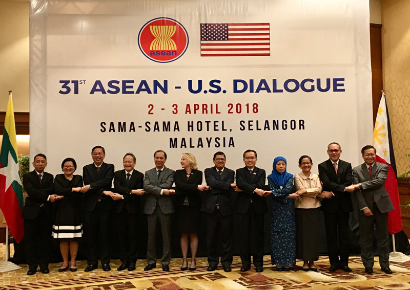 Mỹ mong muốn cùng ASEAN  xây dựng một trật tự cân bằng, bình đẳng
