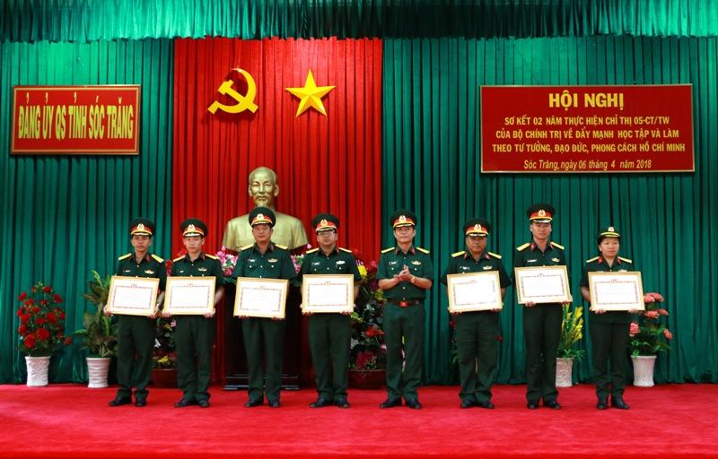 Đảng bộ Quân sự tỉnh Sóc Trăng: Thực hiện Chỉ thị 05 bằng những việc làm thiết thực