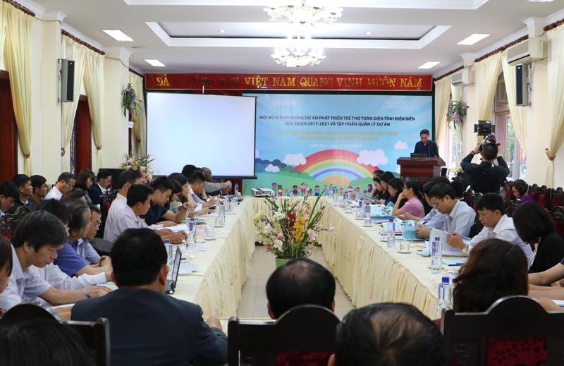 Khởi động Dự án Phát triển trẻ thơ toàn diện tỉnh Điện Biên giai đoạn 2017 - 2021
