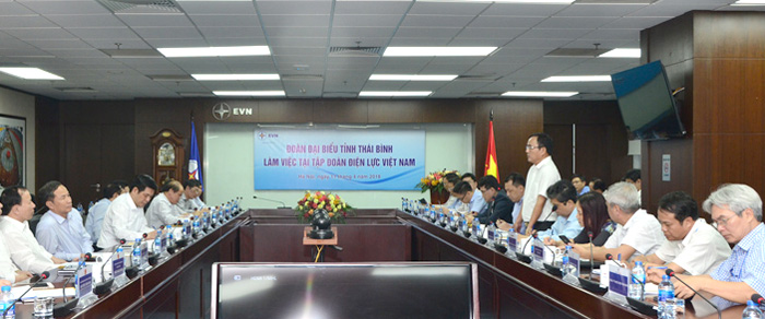 EVN cam kết đáp ứng đủ điện phục vụ phát triển kinh tế - xã hội tỉnh Thái Bình