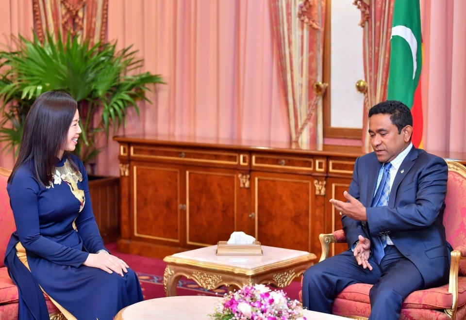 Việt Nam luôn coi trọng và mong muốn phát triển quan hệ hữu nghị, hợp tác với Mandives