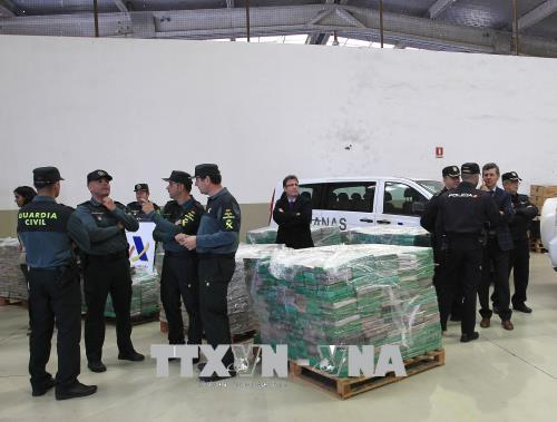 Tây Ban Nha thu giữ 9 tấn ma túy tại cảng Algeciras