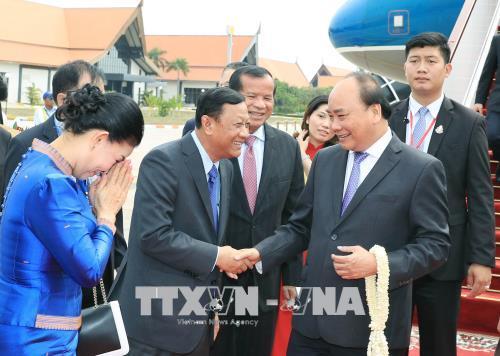 Thủ tướng Nguyễn Xuân Phúc bắt đầu chương trình tham dự Hội nghị cấp cao Ủy hội sông Mekong quốc tế lần thứ 3