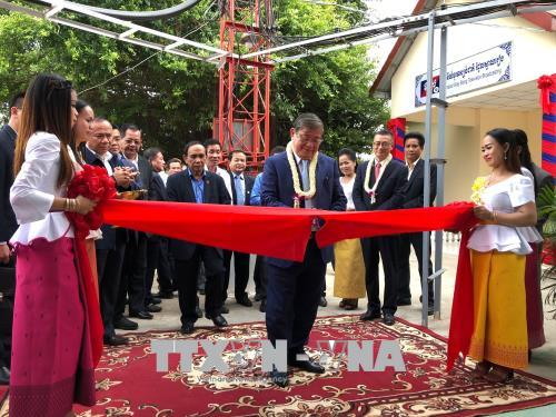 Campuchia khánh thành đài phát sóng truyền hình tỉnh