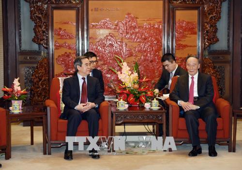 Đoàn đại biểu Đảng Cộng sản Việt Nam thăm và làm việc tại Trung Quốc