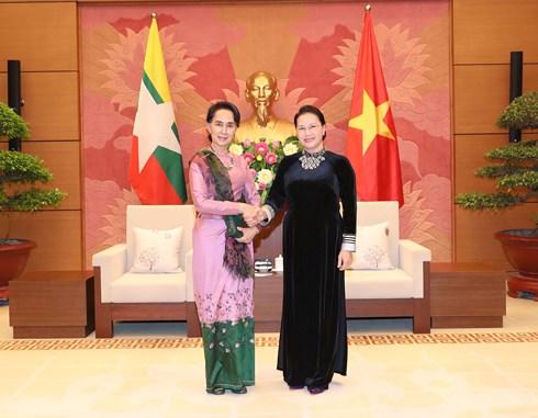 Góp phần làm sâu sắc thêm quan hệ Đối tác hợp tác toàn diện Việt Nam - Mi-an-ma